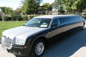TWO TONE CHRYSLER LIMO
