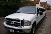 WHITE EXCURSION LIMOUSINE