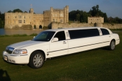 LINCOLN WHITE LIMO