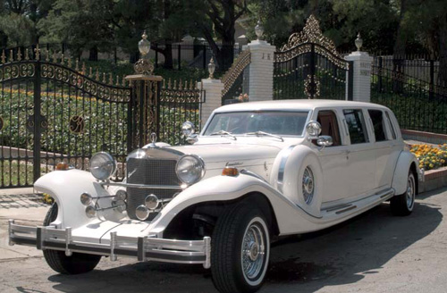 Excalibur The Elegante Wedding Limousine