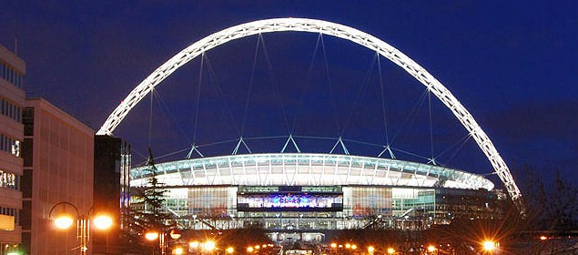 Wembley Stadium - Limousine hire in Middlesex