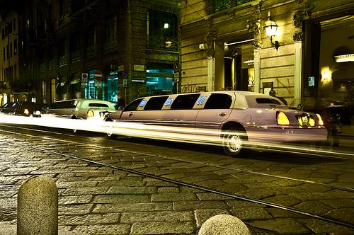 pink limo london